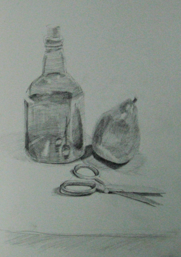 Still Life with Reflection