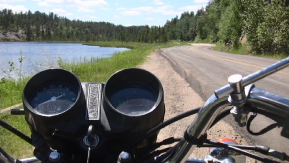June 20- Route 44, through Whiteshell Provincial Park, Manitoba