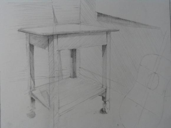 Study of Interior #2