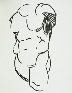 Herakles at the Santa Barbara Museum of Fine Art