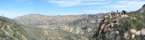 Once we gained the ridge near Hurricane Deck we had some impressive views.