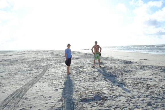 Here is my roommate Gerry and Danen along the coast, not far outside of Savannah