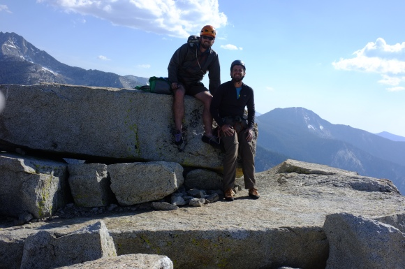 Alas, the summit shot. Such a good climb! A great climber partner as well- looking forward to sharing the next adventure.