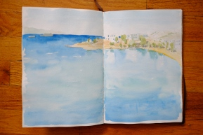 Watercolors from Paros, Greece